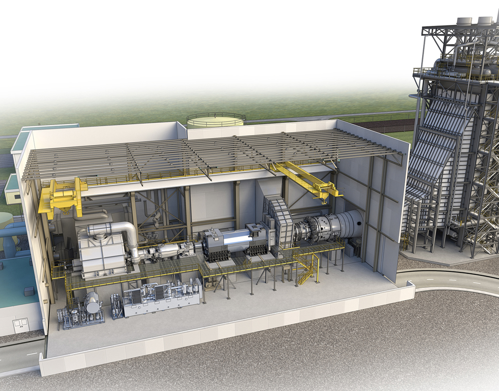 case study ge power generation gas turbine transition