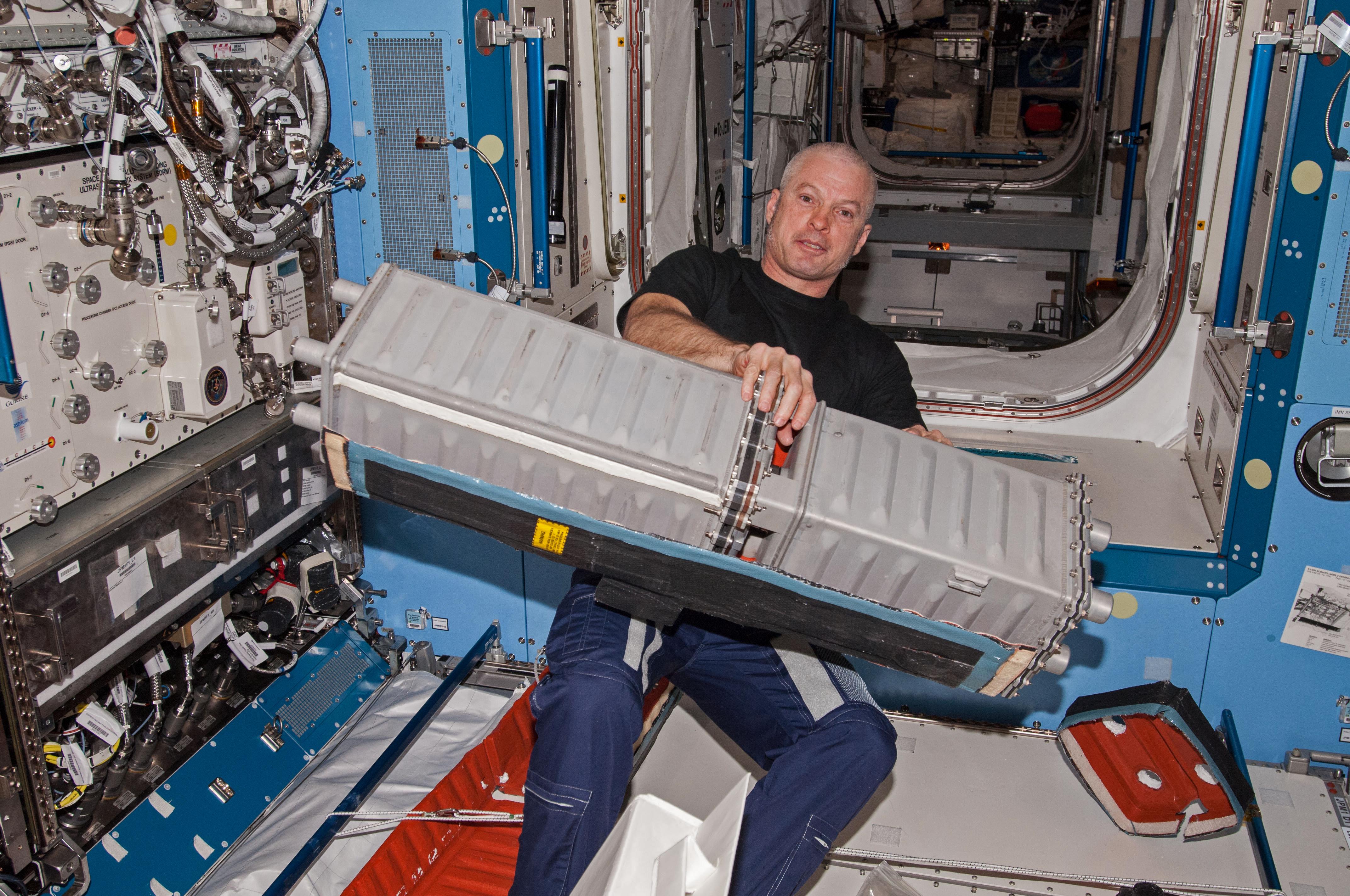 ISS CO2 Steve Swanson